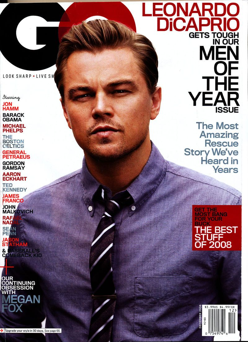Gq Magazine The Secrets Of R Kelly: Leonardo DiCaprio, GQ