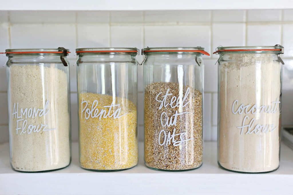 How to label absolutely everything in your home canister