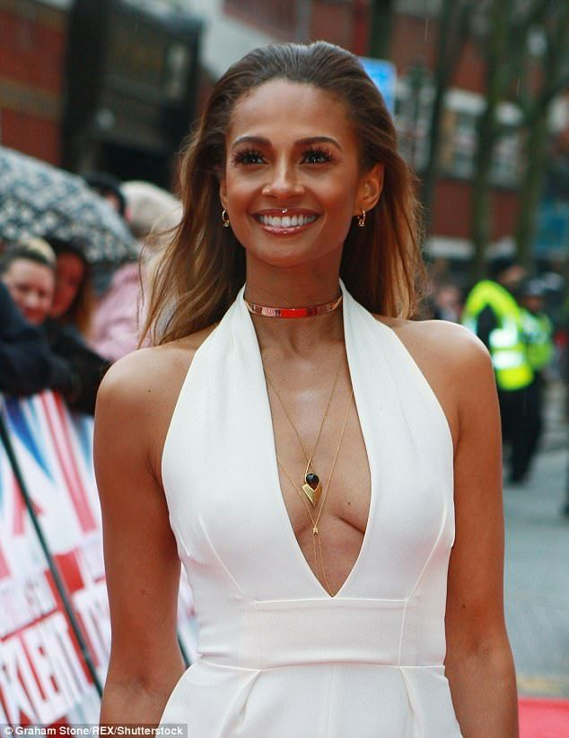 We Are Tasteful With What We Do Defiant Alesha Dixon Has Defended Her And Amanda Holdens Sexy Outfit Choices On Britains Got Talent After Viewers
