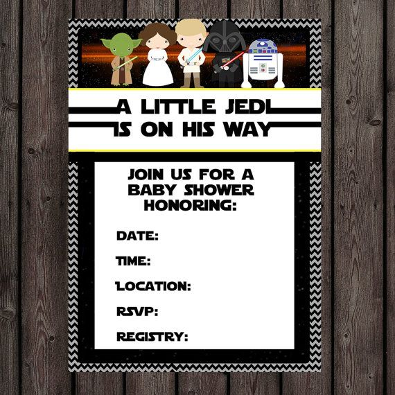 Exceptional Star Wars Baby Shower Invitation Instant By AmysDesignShoppe; Get Printed  At FedEx 524 E Green