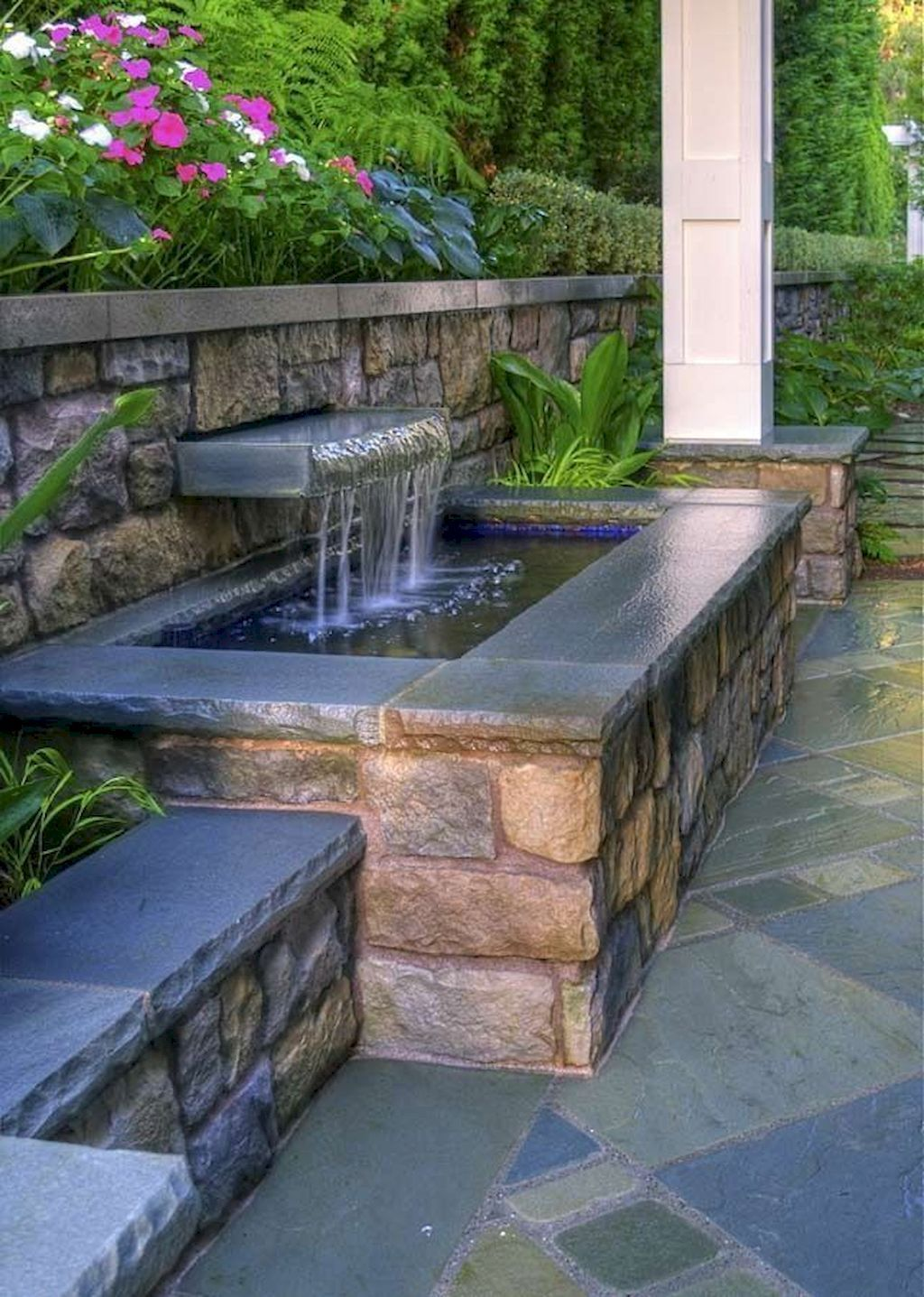 60 Backyard Ponds and Water Garden Landscaping Ideas ... on Courtyard Pond Ideas id=24945