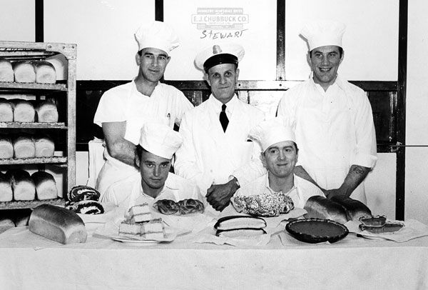Steward And Baking Crew Darlyne Sheppard Alcatraz Photo Collection