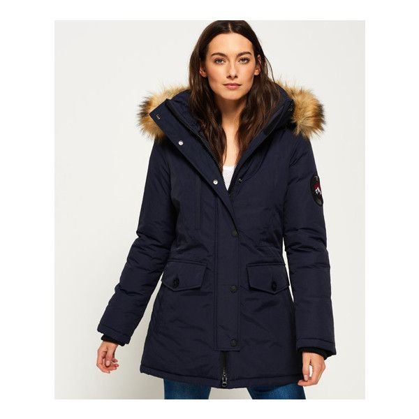 Everest Superdry Ashley Coat160❤ Liked On Polyvore b6f7gy