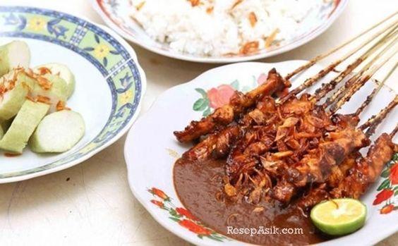 Resep Sate Ayam Madura Bumbu Kacang Dan Cara Membuat Sate Madura Asli Enak Lengkap Olahan Sate Ayam Rumahan Praktis Resep Masakan Korea Resep Masakan Indonesia