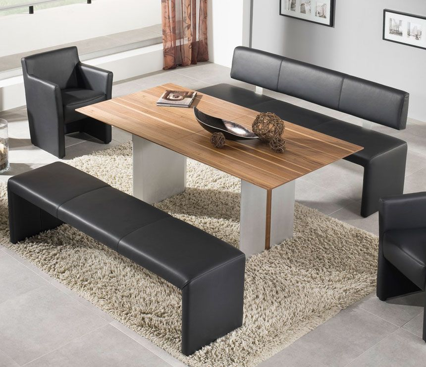Black Bench For Dining Table: Dining Table Bench Seat