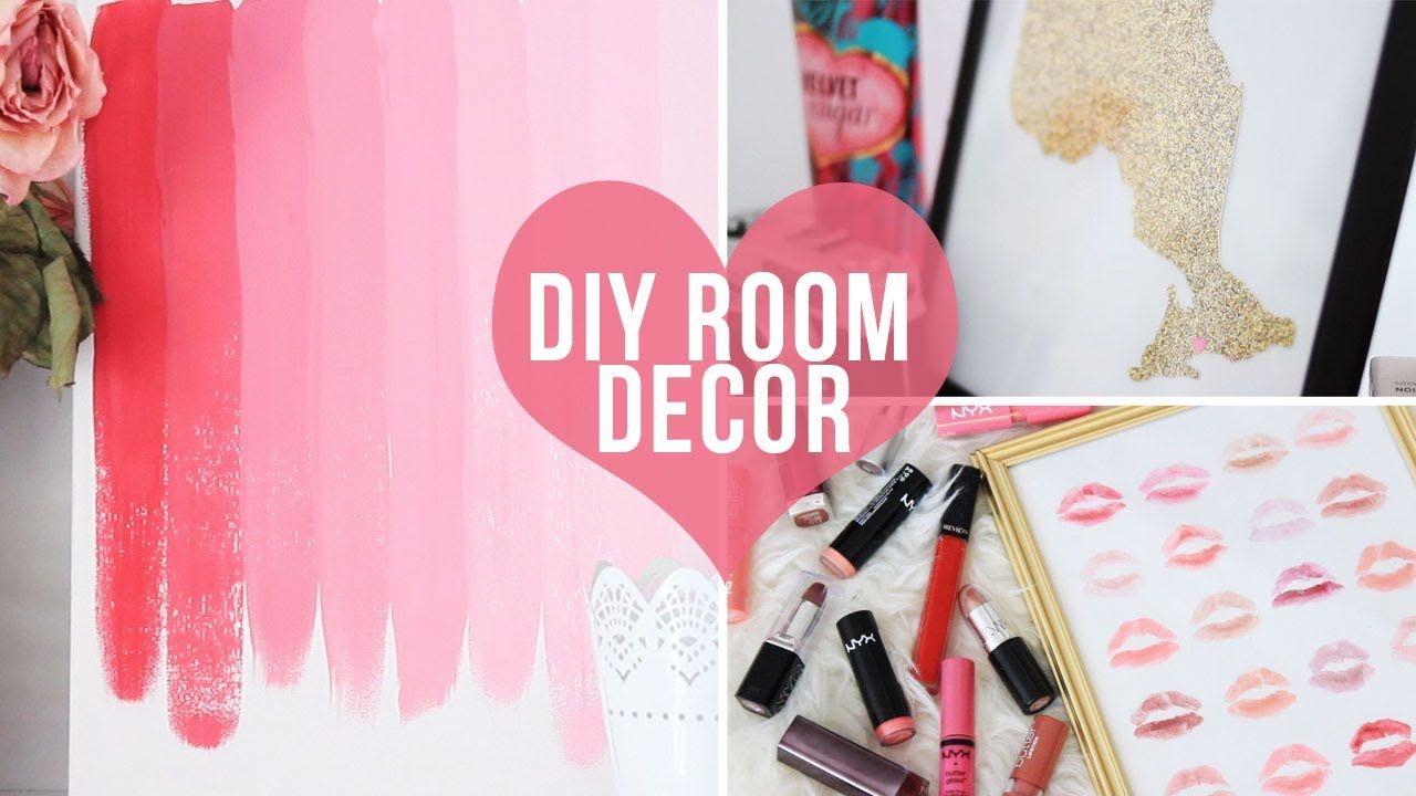 Best 3 Easy Room Decor Wall Art Diys♡ Laurdiy Don T Forget To 400 x 300