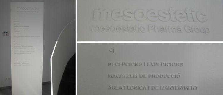 Trabajos de la agencia de publicidad Taos para Mesoestetic