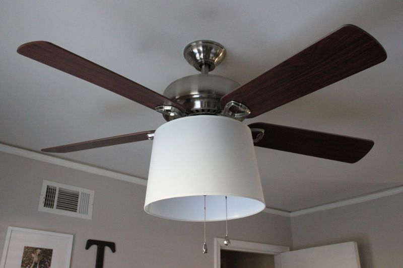Another ceiling fan redo with shade this one has the names of the another ceiling fan redo with shade this one has the names of the parts needed mozeypictures Images