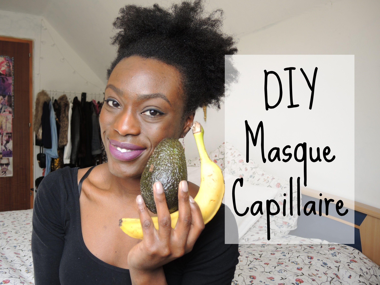 DIY - Masque capillaire fait maison pour cheveux secs et cassants (en co... | Cheveux secs et ...