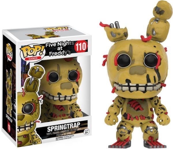 Cinq Nights at Freddy/'s Sister emplacement Vinyl Figure 4 Pack Funko