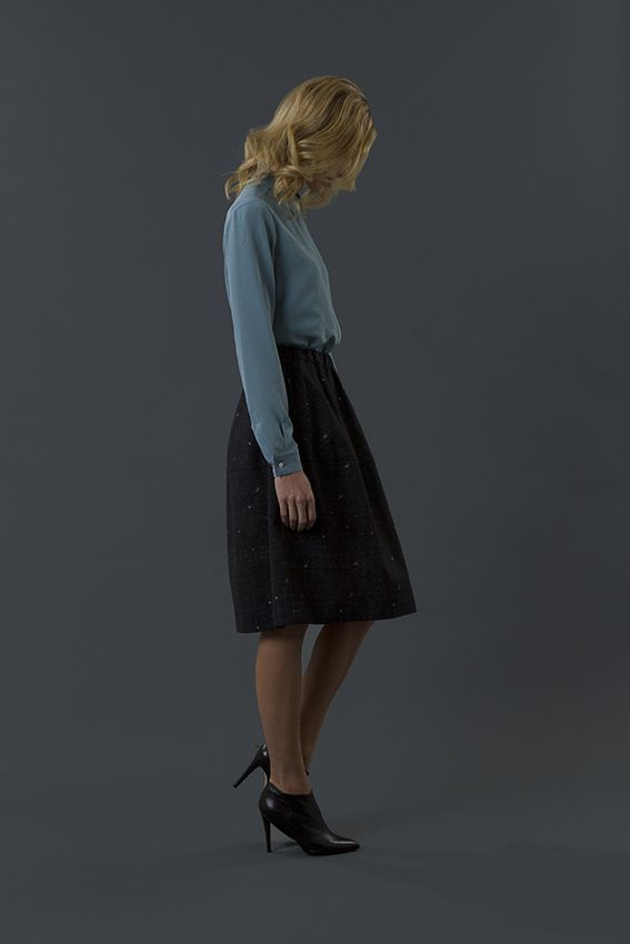shirt gipsy skirt joye FW 15-16 collection by QL2 www.quelle2.it #fashion, #women, #apparel
