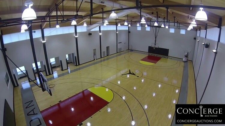 23 Chicago Bulls Michael Jordans BASKETBALL COURT His Home In Highliand Park IL
