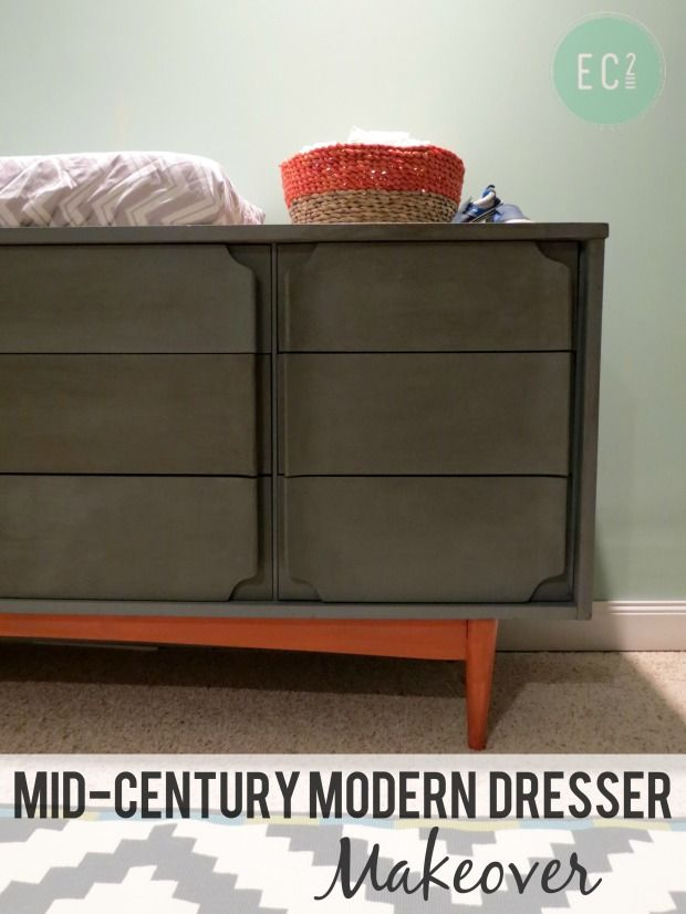 Mid Century Modern Dresser Makeover Repurposing Diy Projects