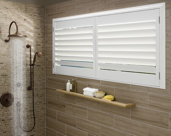 These Are The Best Privacy Options For Your Bathroom Windows Bathroom Window Treatments Window In Shower Bathroom Windows