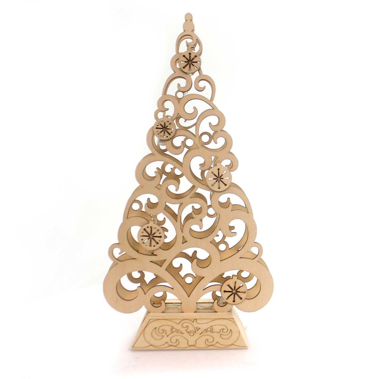 Christmas Flourish Tree Centerpiece Christmas Decor
