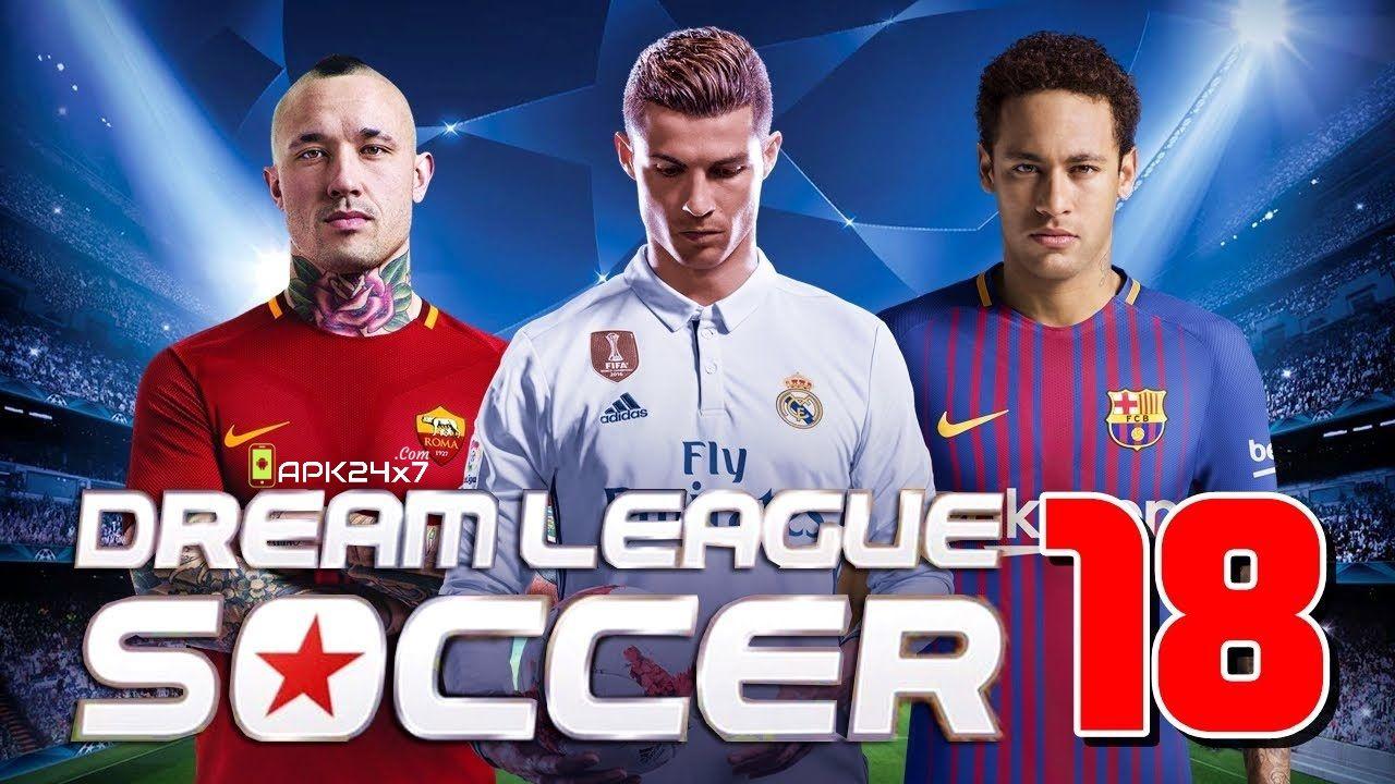 Dream League Soccer 2018 V5 05 Mod Apk Data Apk24x7 Tool Hacks Soccer Games Hack Online