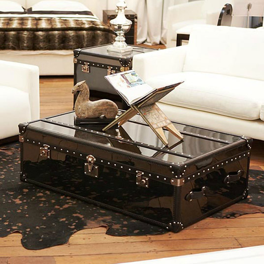 Momu Australia Black Trunk Coffee Table Coffee Table Trunk Interior Design Art Of Living