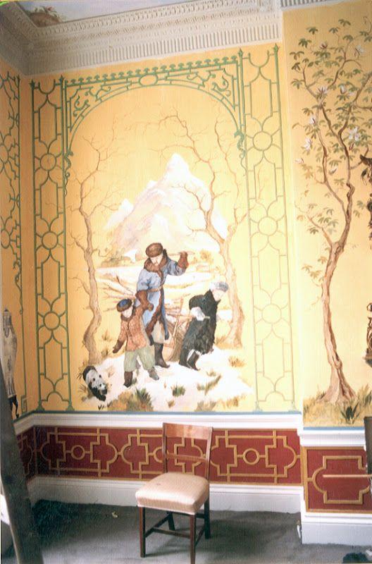 Chinoiserie Murals - Dillon Murals | Walls | Pinterest | Chinoiserie ...