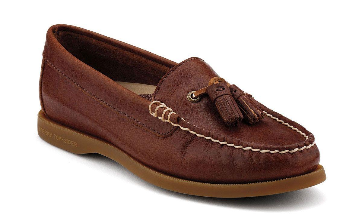 Sperry Top-Sider | Women's Loafers | Eden Tassel in Tobacco