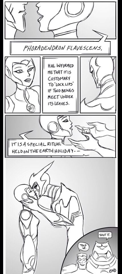 GLTAS Christmas comic Razer and Aya Pg 5