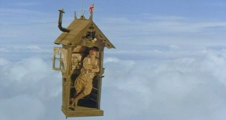 outhouse airship!