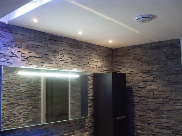 Photos décoration de Salle de bain Moderne/Design Gris Douche ...