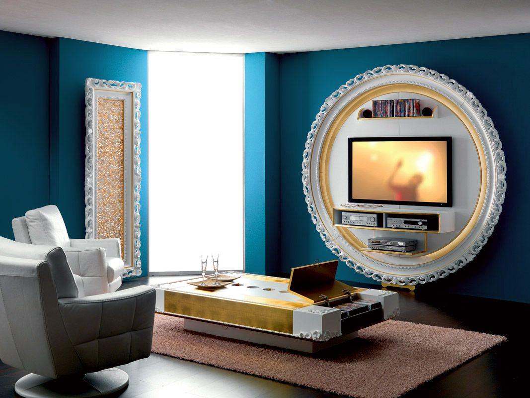 Mobile porta tv parete attrezzata porta lcd porta tv - Mobile porta tv da parete ...