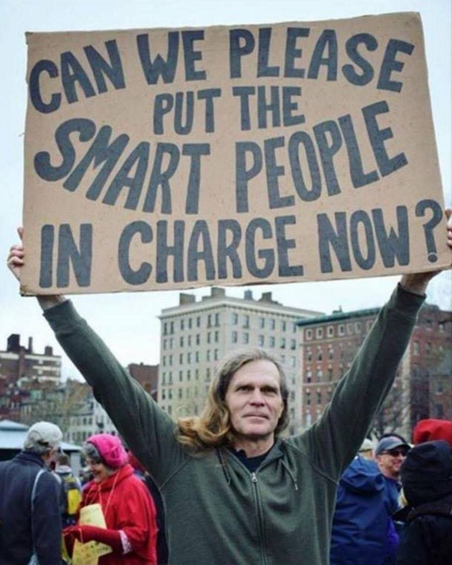 This is an image of Candid Protest Sign Ideas Trump