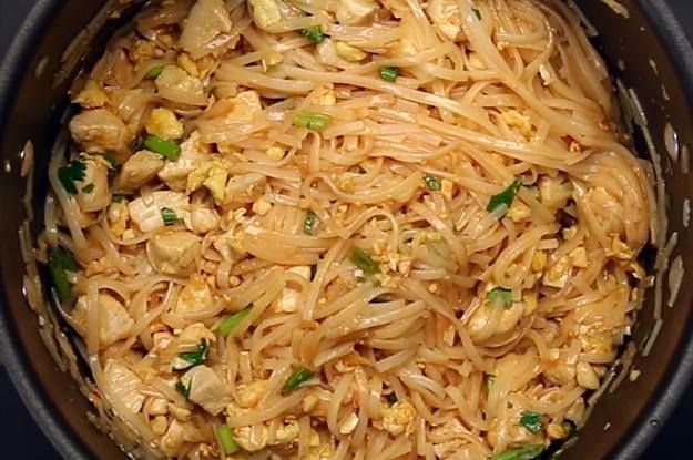 Watch the full recipe video here pinterest dinners easy and watch the full recipe video here this one pot pad thai is an easy dinner to make tonight forumfinder Images