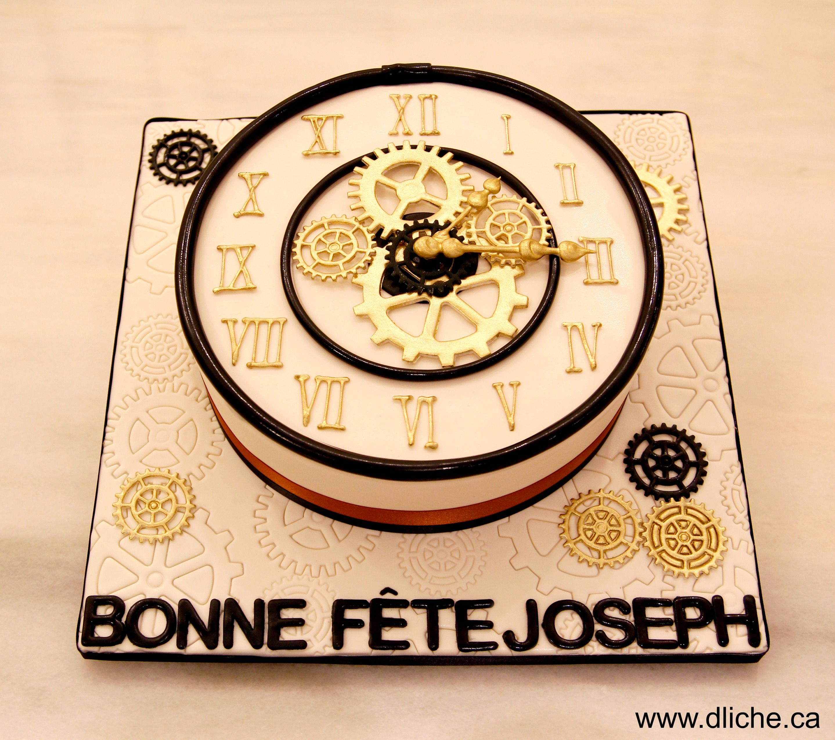 g teau horloge clock cake backen kuchen torten und torte f r m nner. Black Bedroom Furniture Sets. Home Design Ideas