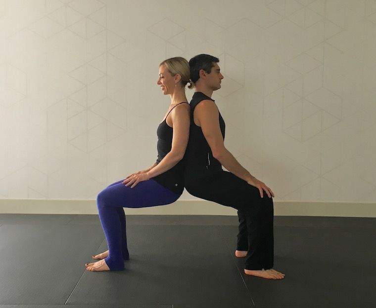 10 Partner Yoga Poses For A Strong And Flexible Relationship Partner Yoga Poses Couples Yoga Poses Couples Yoga