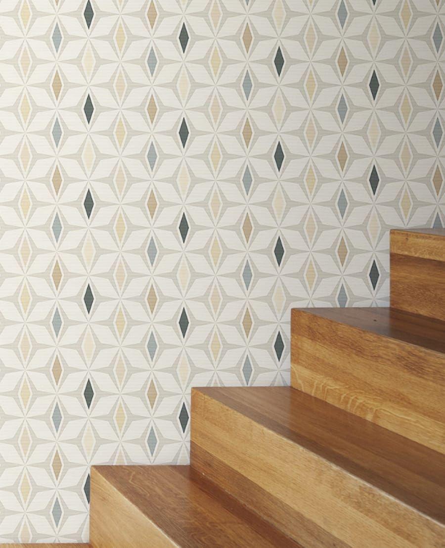 Tapete Miron Beige | Flur | Pinterest | Moderne tapete, Tapeten und ...