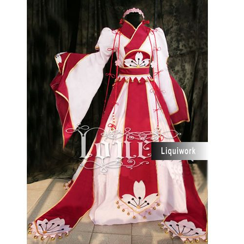 Wedding Wishes In Japanese: Medieval Japanese Queen Masquerade Naruto Cosplay Costumes