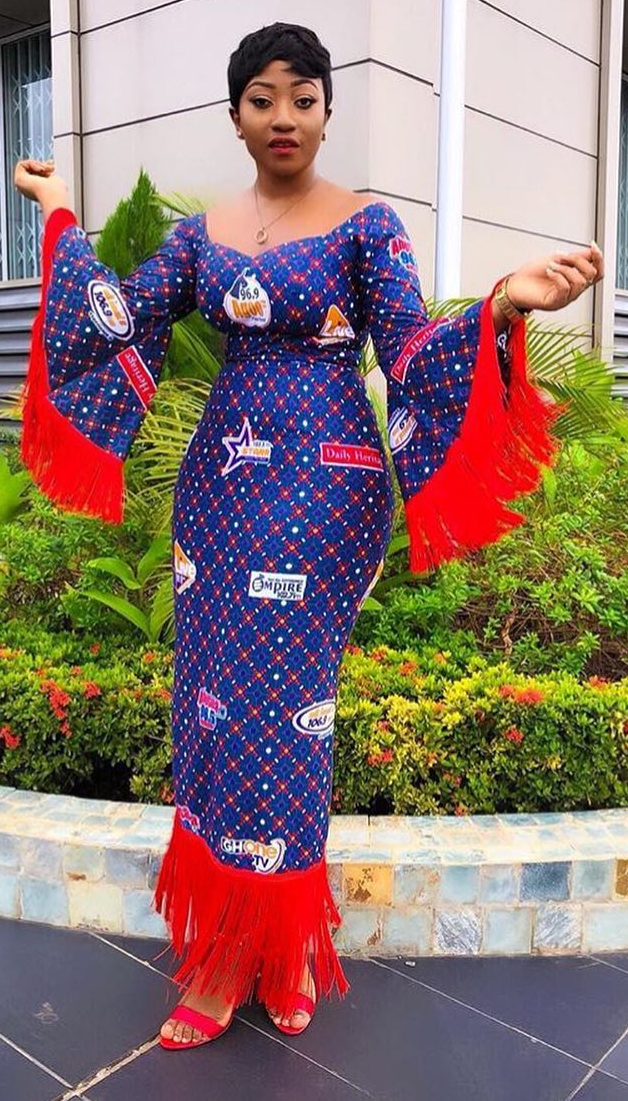 550357a6891d anita akufo in eib network cloth, African fashion, Ankara, kitenge, African  women dresses, African prints, African men's fashion, Nigerian style, ...