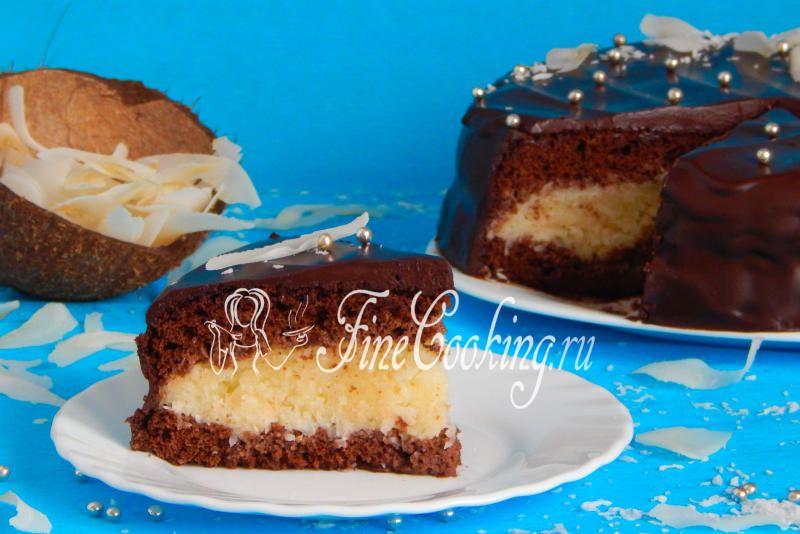 Торт Баунти | Рецепт | Торт, Национальная еда и Выпечка