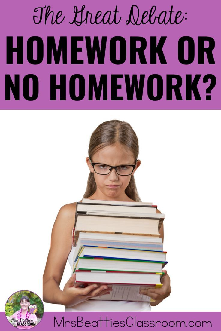 The Great Homework Debate - Is It Worth It? Do you assign homework in your classroom? The debate ra