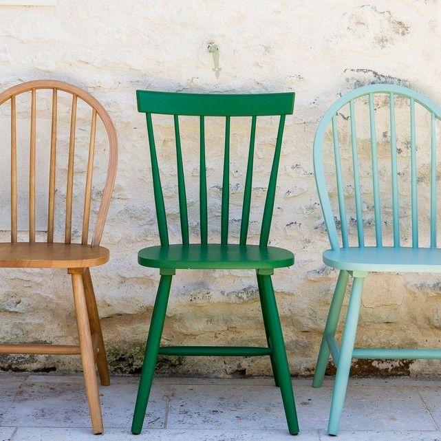 Lot de 2 chaises à barreaux, WINDSOR | Chaises windsor
