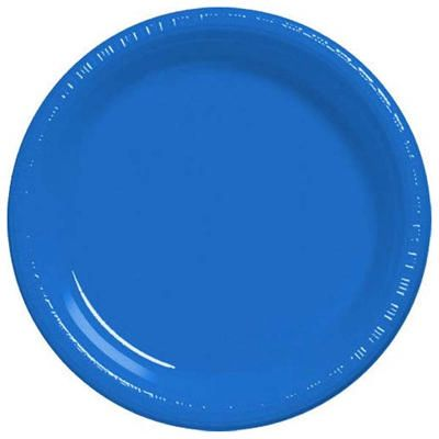 Marine Blue 9 inch Plastic Plates/Case of 200  sc 1 st  Pinterest & Marine Blue 10 1/4 inch Plastic Plates/Case of 200 | Party Supplies ...