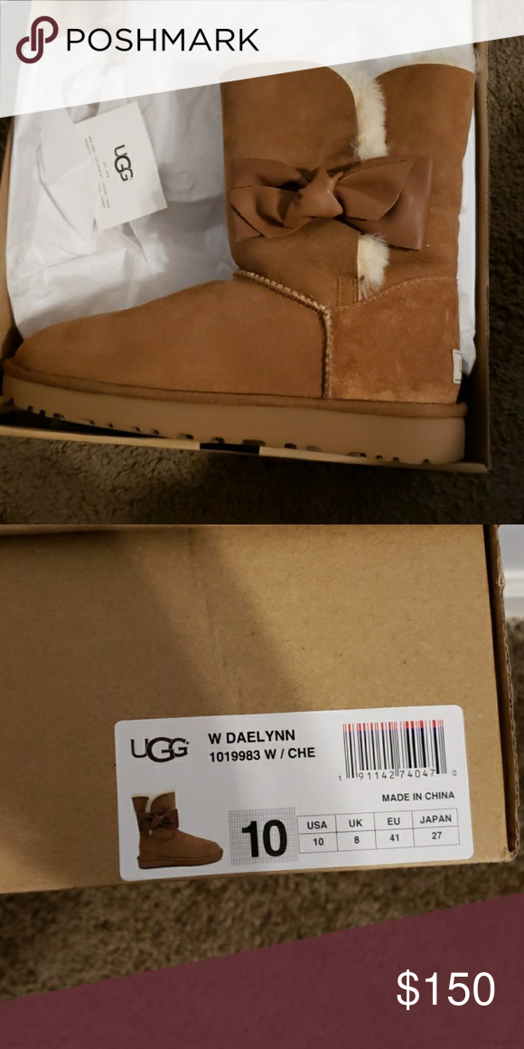 e77a1664030 UGG Shoes | Ugg Daelynn Boots | Color: Tan | Size: 10 | My Posh ...
