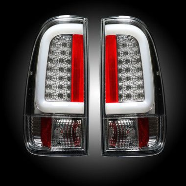 New Model Recon Clear Led Tail Lights 08 16 Powerstroke 6 4l 6 7l Led Tail Lights Powerstroke Ford Super Duty