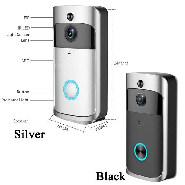 Best Sellers 720P WiFi Smart Wireless Security DoorBell HD