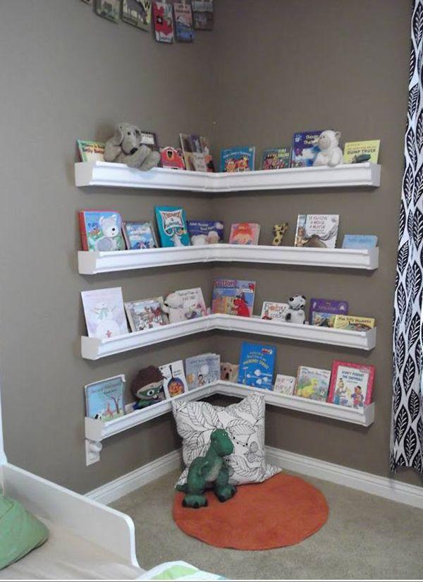 Organiza los libros de tus hijos, con esta excelente idea