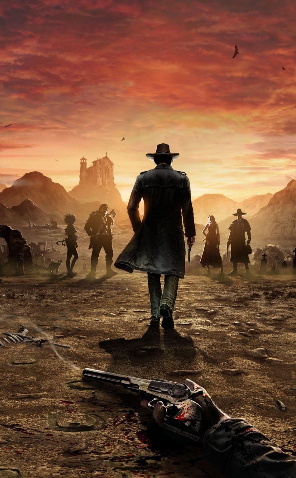 Desperados Iii Video Game 2019 Poster 950x1534 Wallpaper Red