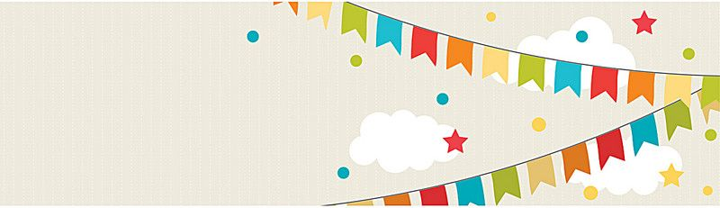 Cute Birthday Banner In 2020 Cartoon Posters Creative Poster