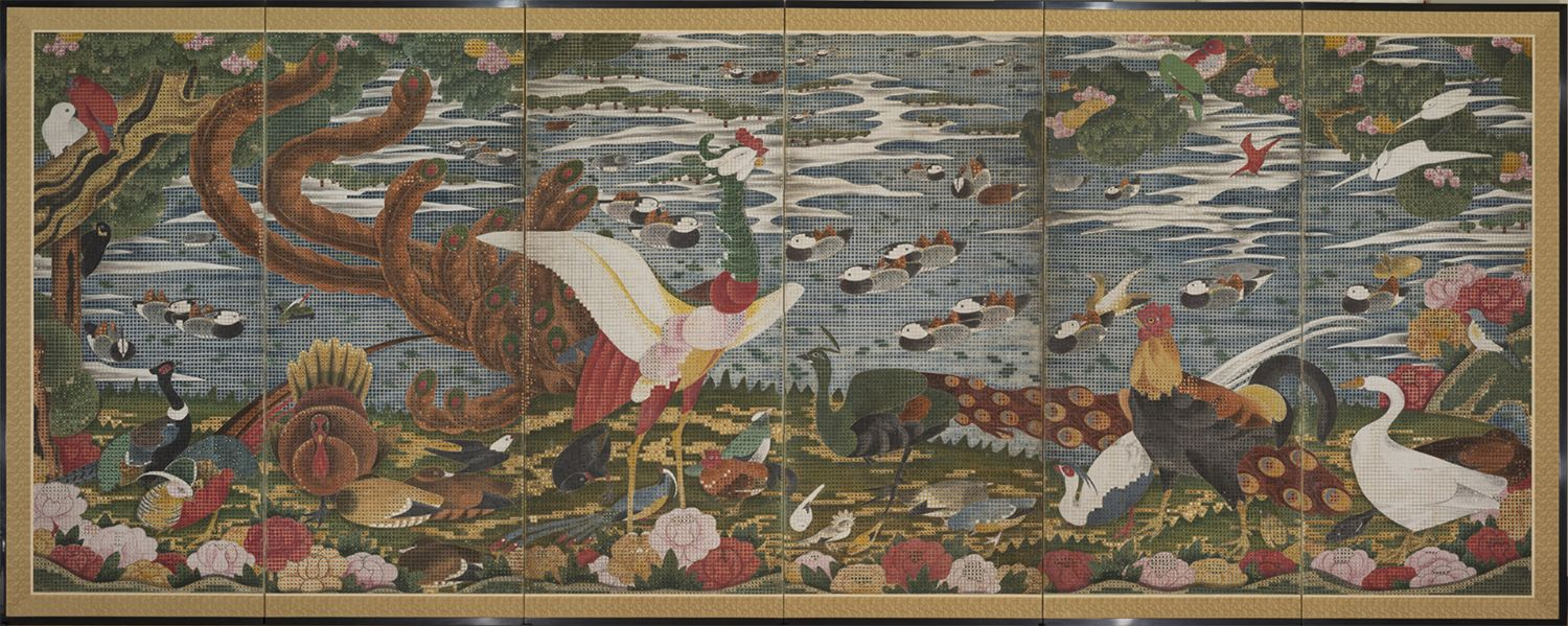 The remarkable painter Ito Jakuchu was born during the sixth year of the reign of Emperor Shotoku (1