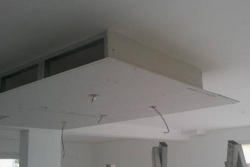 rail placo plafond chassis suspendu montant r45 m45 On faux plafond placo
