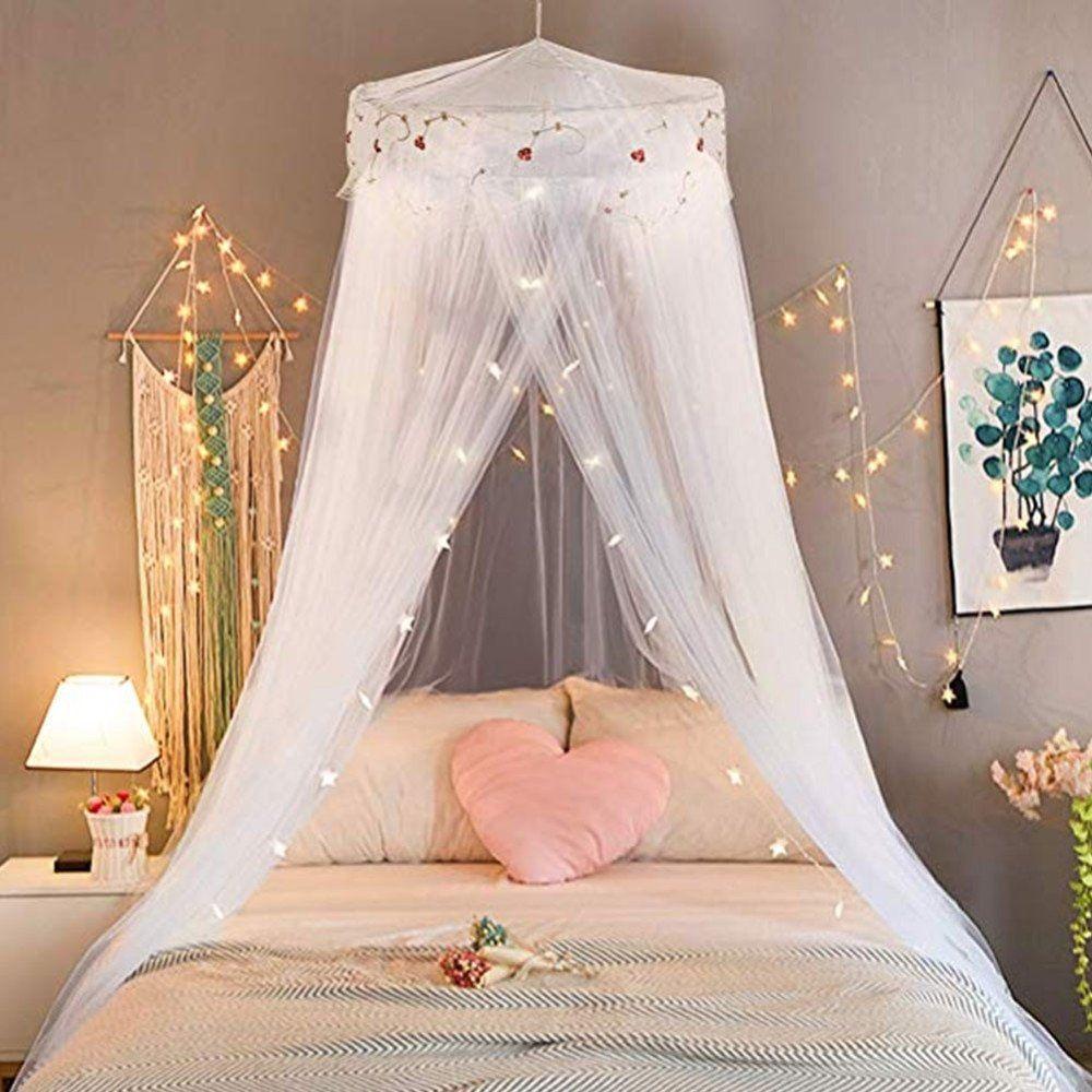 Girlchoice Princess Bed Canopy Mosquito Curtain Lively Focus Girls Bed Canopy Princess Canopy Bed Tween Girl Bedroom