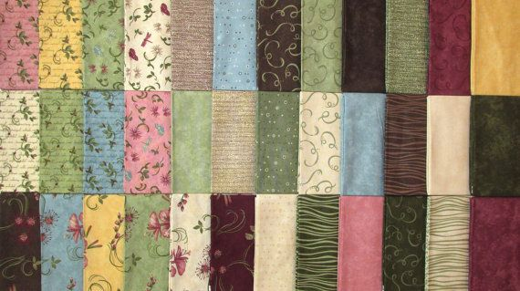 Northern Solitude Collection  Moda  36 Fat by TheKittyQuilter, $80.00