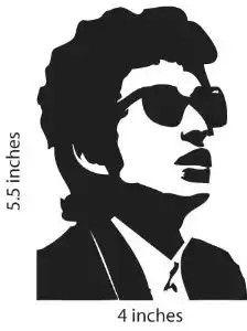 Bob Dylan Silhouttes Bob Dylan Art Bob Dylan Dylan