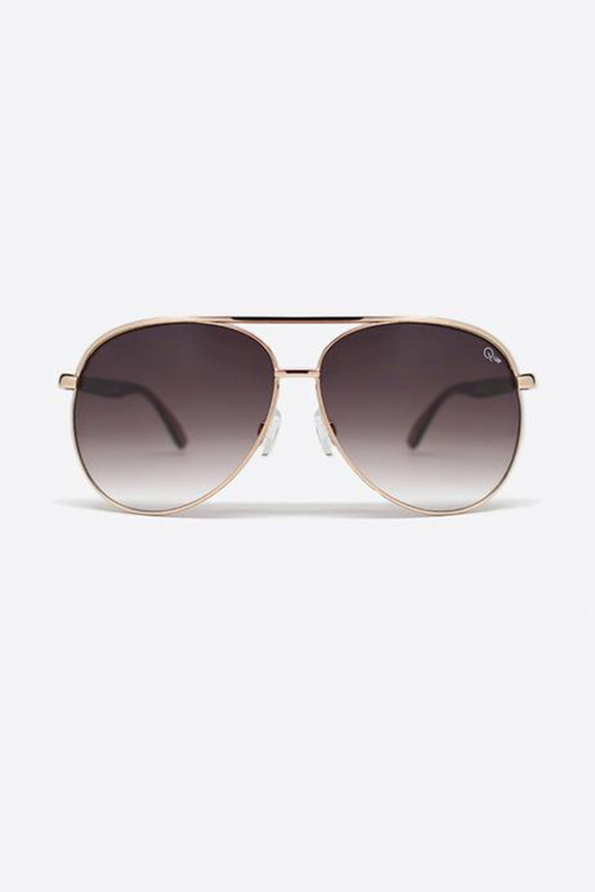 0184fdc6cb591 Macaw Sunglasses by Quay Australia. Metal frame sunglasses with  polycarbonate lens ...